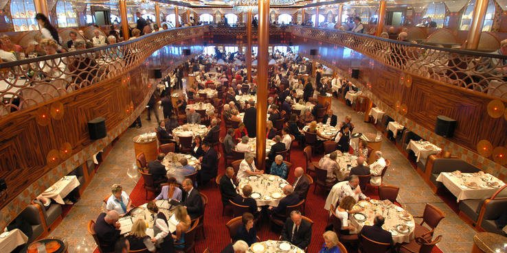 Carnival Legend Dining Restaurants Amp Food On Cruise Critic