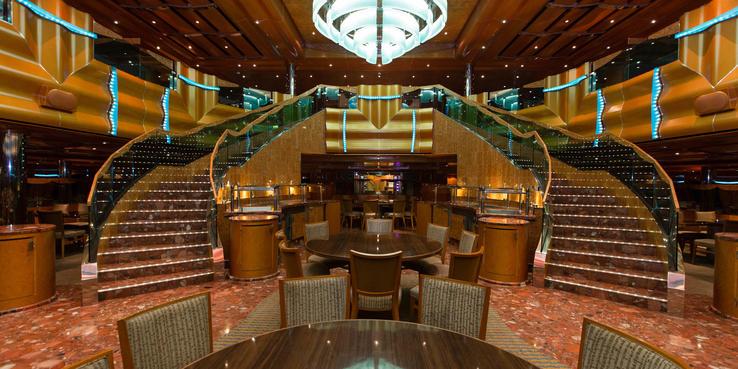 Carnival Magic Dining Restaurants Amp Food On Cruise Critic