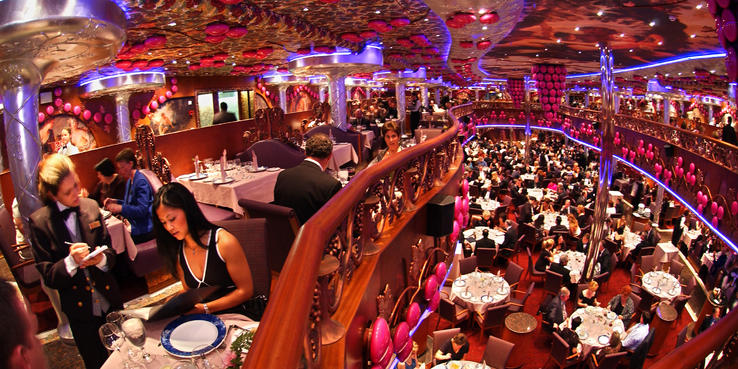 Carnival Miracle Dining Restaurants Amp Food On Cruise Critic