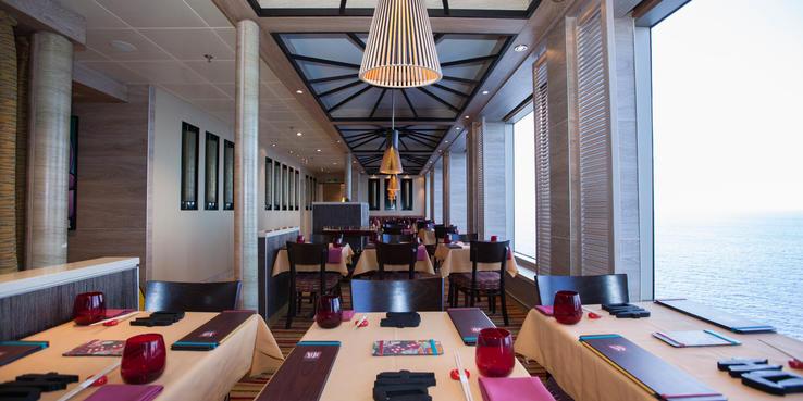 Carnival Sunshine Dining Restaurants Amp Food On Cruise Critic