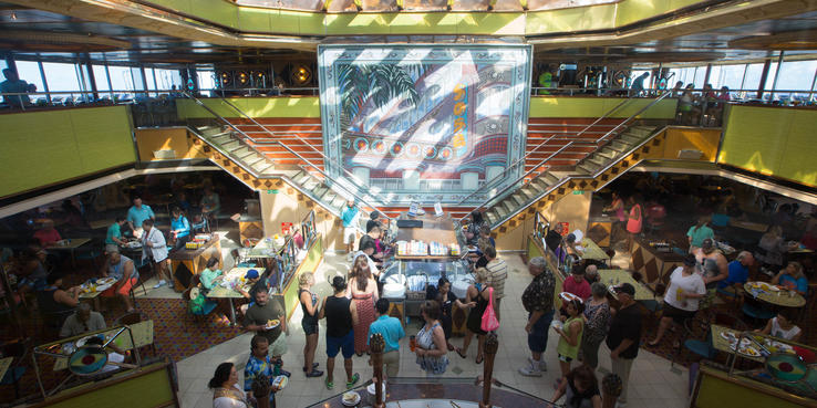 Carnival Triumph Dining Restaurants Amp Food On Cruise Critic