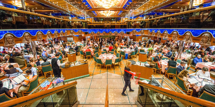 Carnival Victory Dining Restaurants Amp Food On Cruise Critic