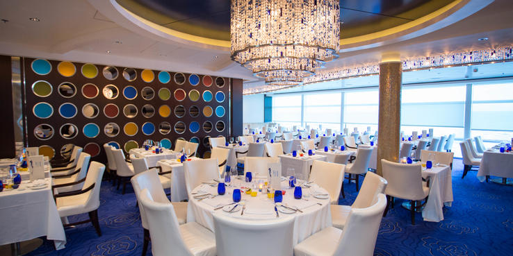 Image result for celebrity solstice dining room