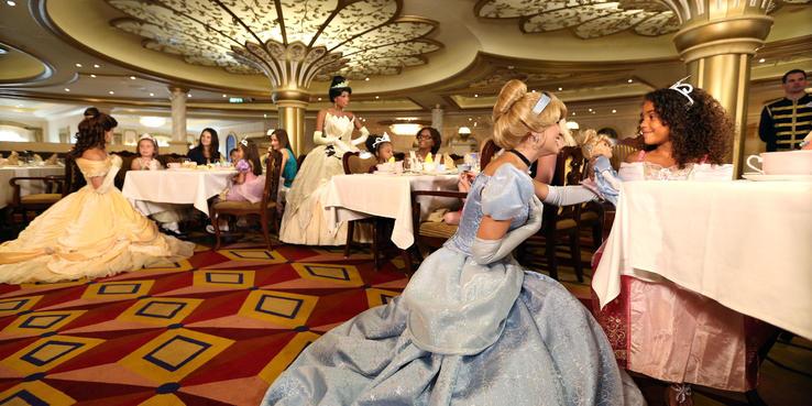 Disney Wonder Dining Restaurants Food On Cruise Critic