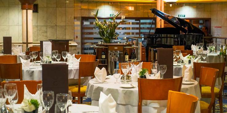 Grand Celebration Dining Restaurants Food On Cruise Critic