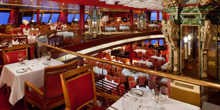 Veendam Dining Restaurants Food On Cruise Critic