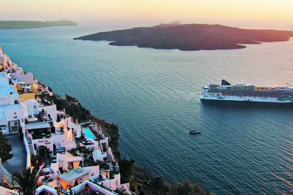 Cruise ship in the Mediterranean (Photo: Norwegian Cruise Line)