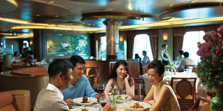 Sapphire Princess Dining Restaurants Food On Cruise Critic