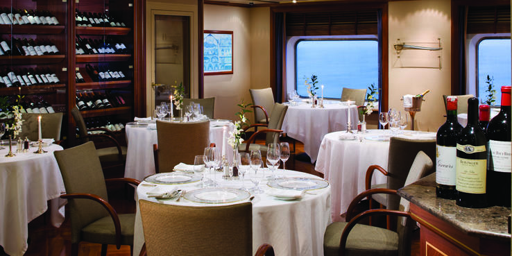 Silver Shadow Dining Restaurants Food On Cruise Critic