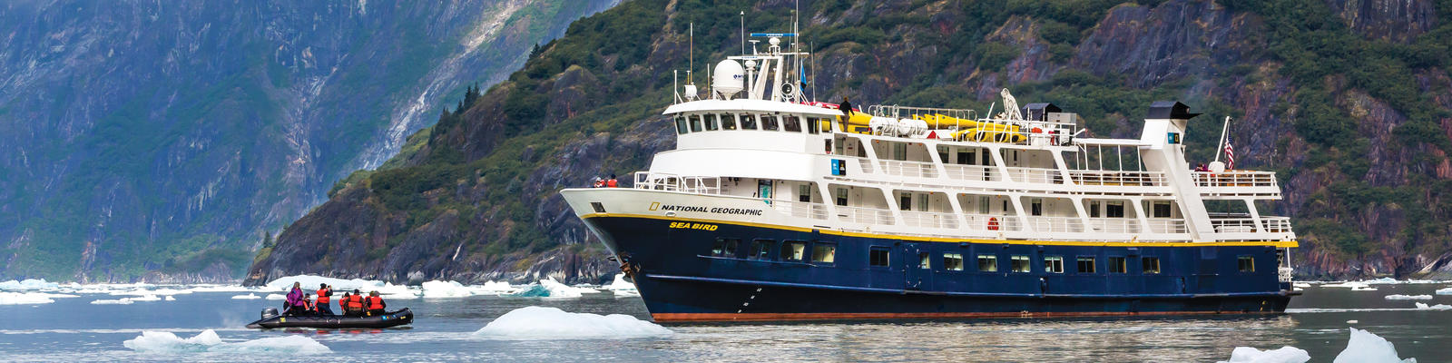 Small Ships in Alaska: A Guide to Cruising Off the Beaten Path (Photo: Lindblad Expeditions)