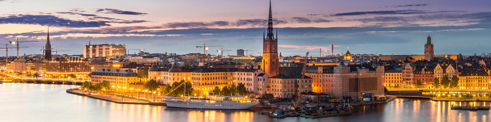 Stockholm, Sweden (Photo:  S-F/Shutterstock)