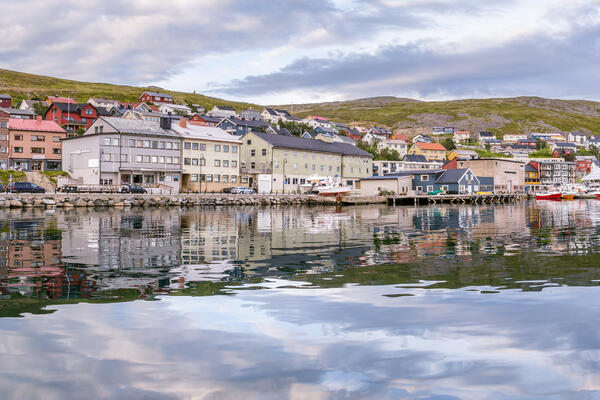 Port of Honningsvag in Finnmark Norway (Photo: HildaWeges Photography/Shutterstock)