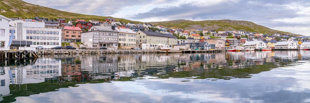 Port of Honningsvag in Finnmark Norway (Photo: HildaWeges Photography/Shutterstock)