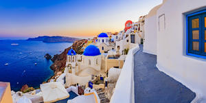 Santorini, Greece (Photo: gorillaimages/Shutterstock)