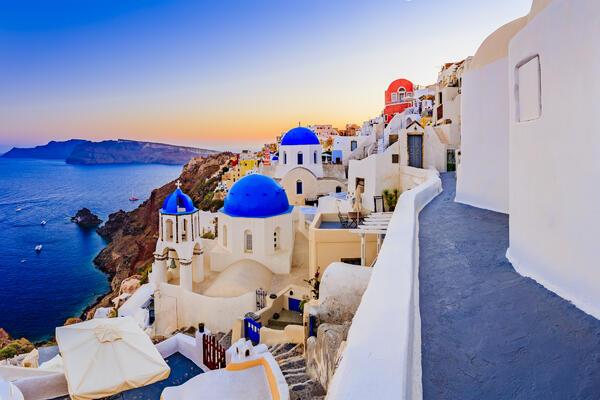 Santorini, Greece (Photo: gorillaimages/Shutterstock)