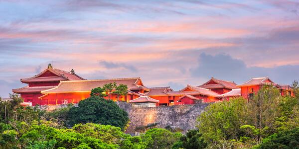 Shuri Castle in Naha, Okinawa, Japan (Photo: Sean Pavone/Shutterstock)