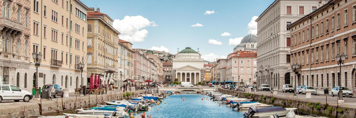 Trieste (Photo: Dieter Hawlan/Shutterstock.com)