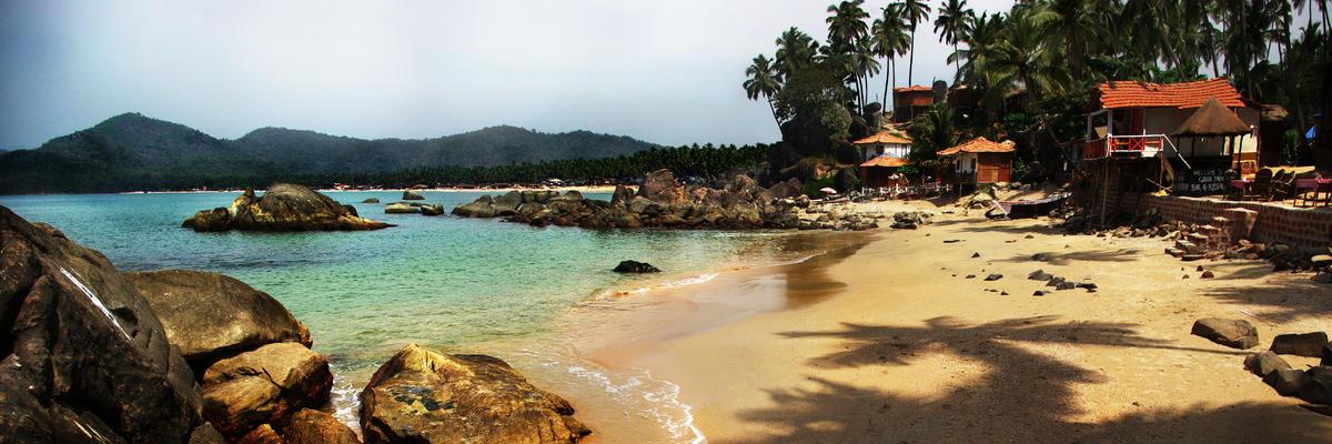 Palolem Beach lagoon, Goa, India (Photo: Val Shevchenko/Shutterstock)