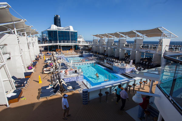 The Pool on Celebrity Solstice (Photo: Cruise Critic)