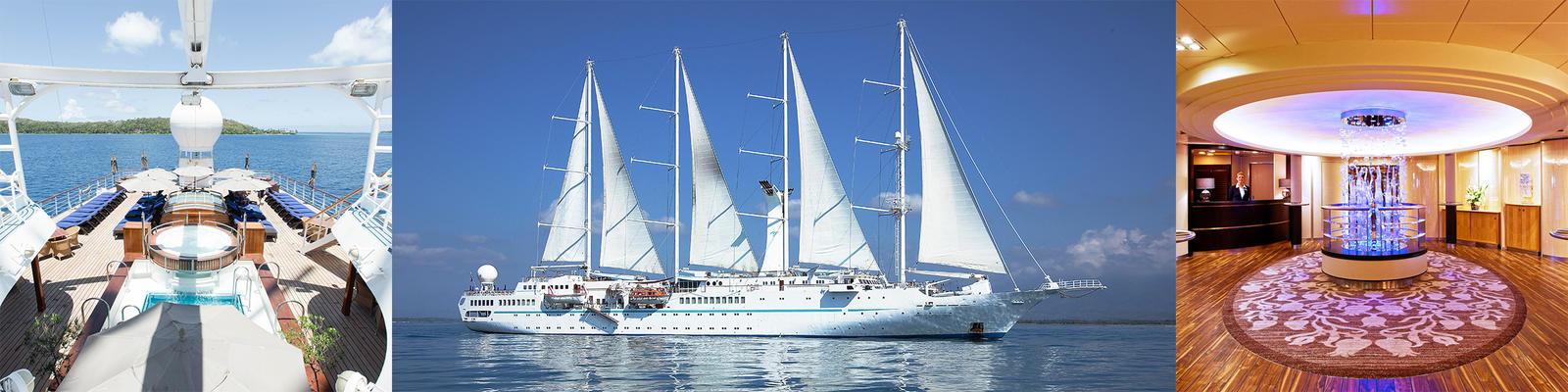 Windstar Wind Spirit Cruise Ship Review Photos Departure Ports - Wind spirit