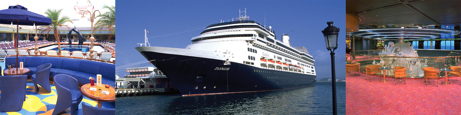 Holland America Zaandam Cruise Ship Review Photos Departure - Zaandam ship