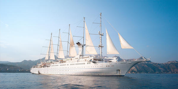 Windstar Wind Surf Cruise - Ship Review - Photos & Departure