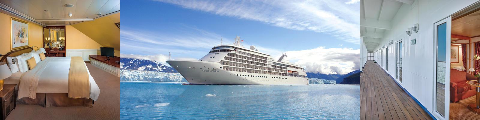 Silversea Silver Shadow Cruise Ship Review Photos Departure - Silver shadow cruise ship itinerary