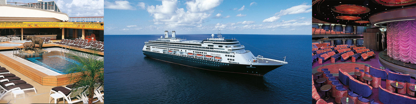 Holland America Amsterdam Cruise Ship Review Photos Departure - Amsterdam cruise ship