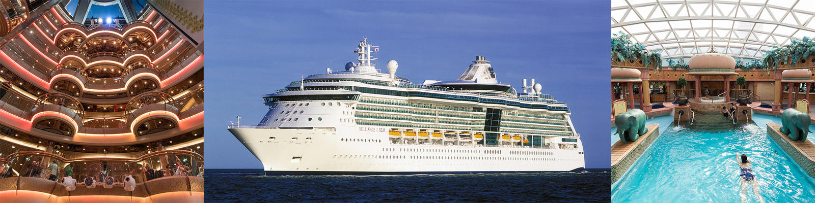 brilliance of the seas cruise ship review photos departure ports
