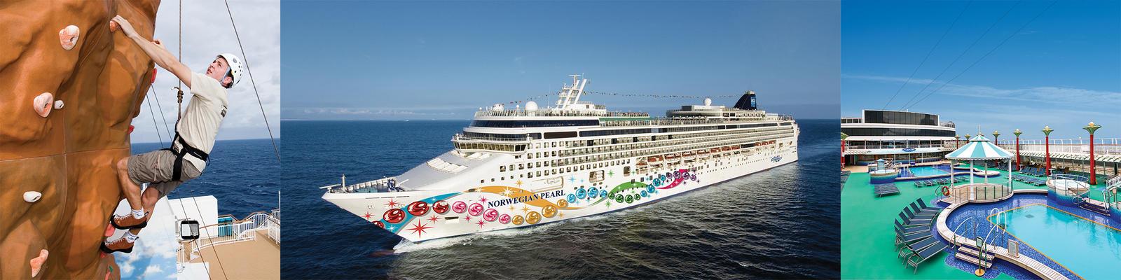 Norwegian Pearl Cruise Ship Review Photos Departure Ports On - Norwegian pearl cruise ship