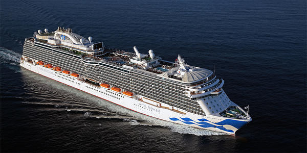 Royal Princess Cruise - Ship Review - Photos & Departure