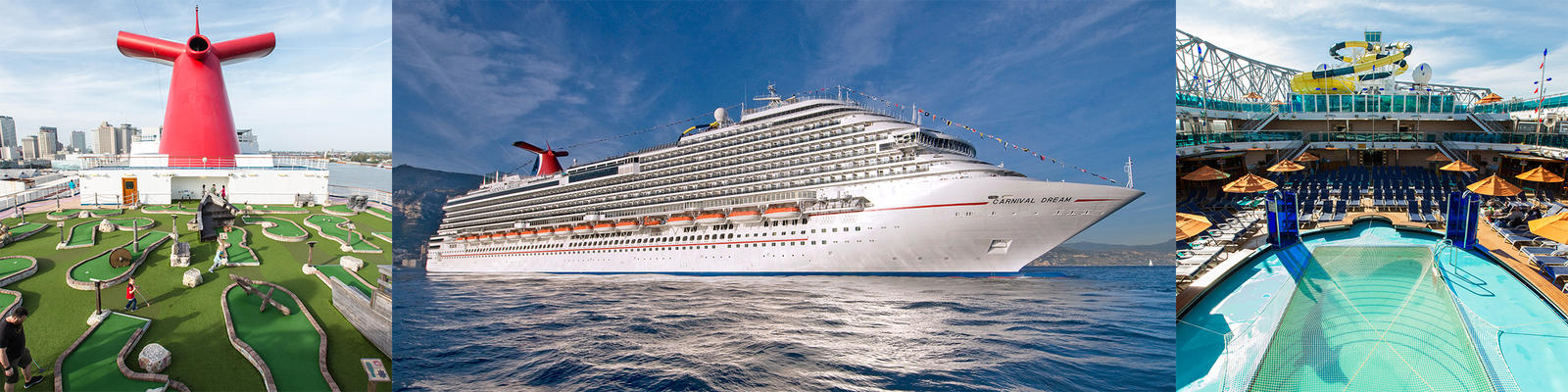 carnival dream cruise ship review photos departure ports on