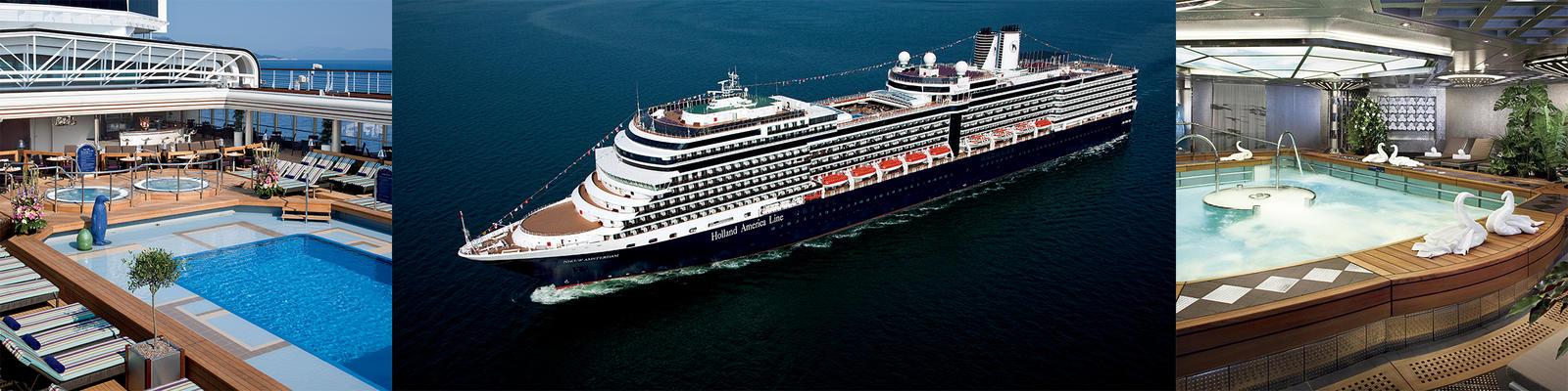 Holland America Amsterdam Cruise Ship | MS Amsterdam Cruises