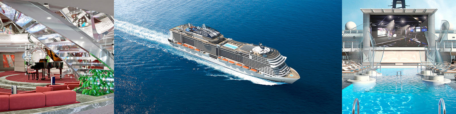 MSC Meraviglia Cruise Ship Review Photos Departure Ports On