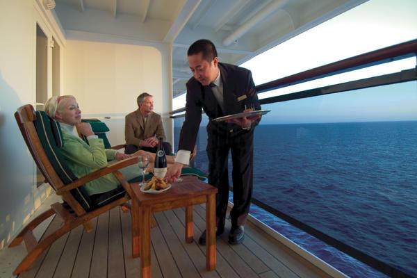 Butler Service on a Cunard cruise (Photo: Cunard Line)