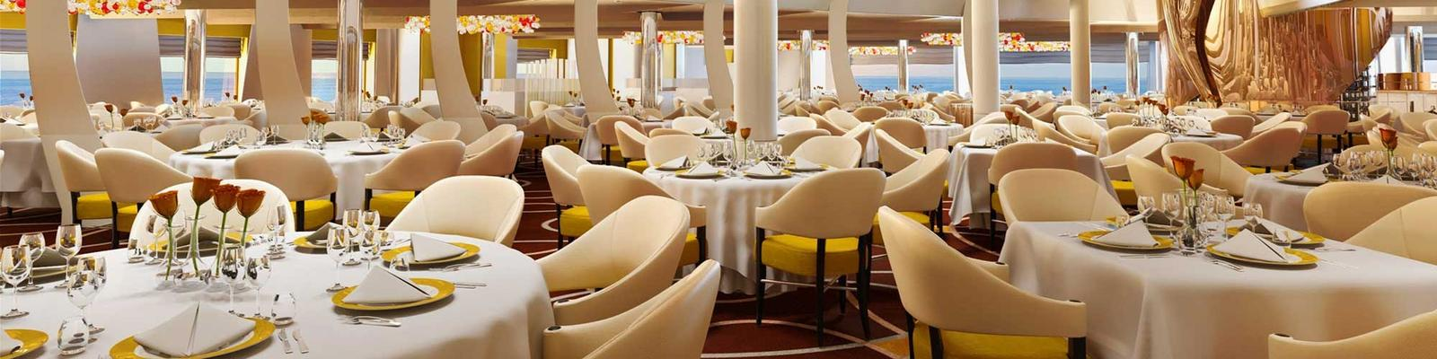 9 Things Not to Do in a Cruise Ship Main Dining Room (Photo: Holland America Line)