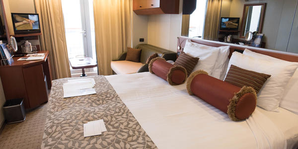 Verandah cabin on Holland America's Eurodam (Photo: Cruise Critic)