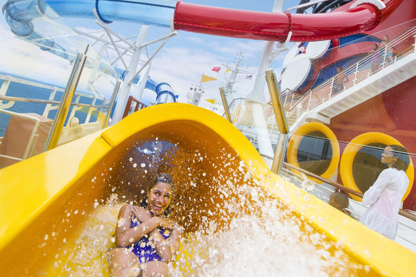 Disney Magic's AquaDunk (Photo: Disney Cruise Line)