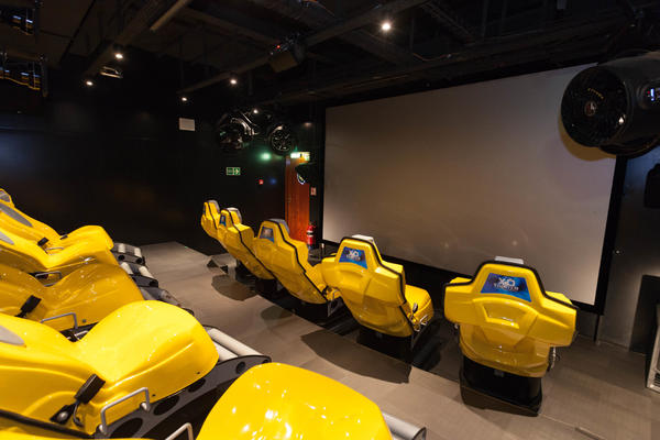 4D Cinema on MSC Divina (Photo: Cruise Critic)