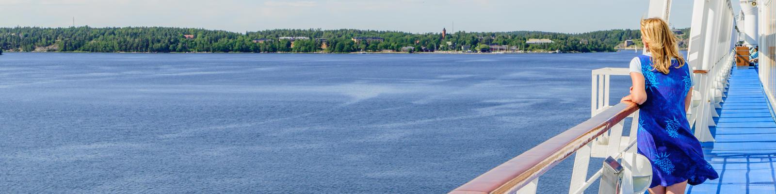 Enjoying peace and silence on a cruise ship (Photo: Tony Moran/Shutterstock)