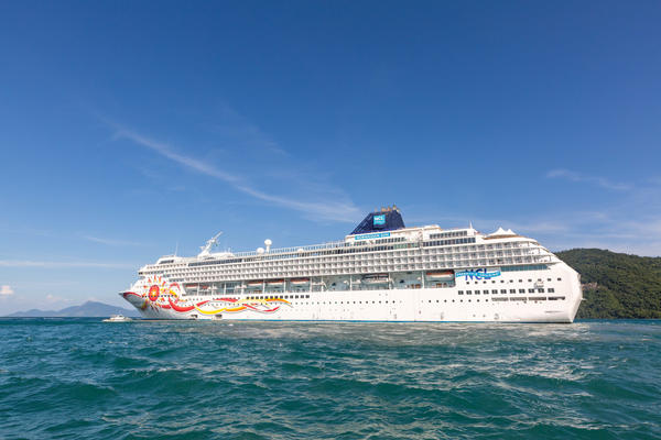 Norwegian Sun's Livery (Photo: Cruise Critic)