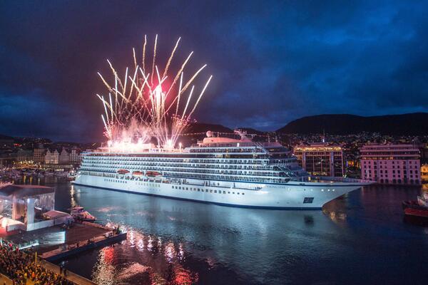 Onboard holiday festivities (Photo: Viking Ocean Cruises)