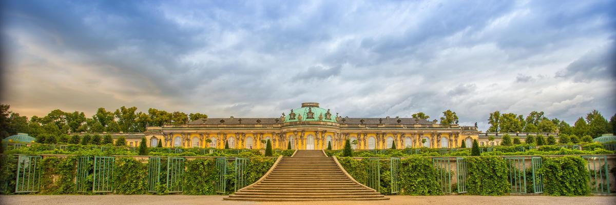 Sanssouci Palace, Potsdam, Germany (Photo: Jrossphoto/Shutterstock)