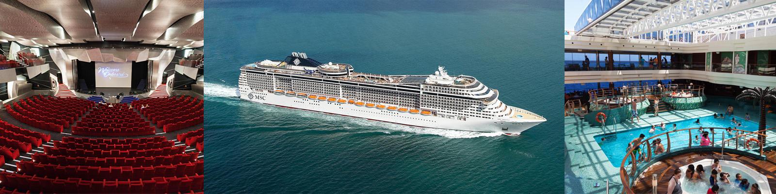 MSC Divina Cruise Ship Review Photos Departure Ports On Cruise - Msc divina cruise ship