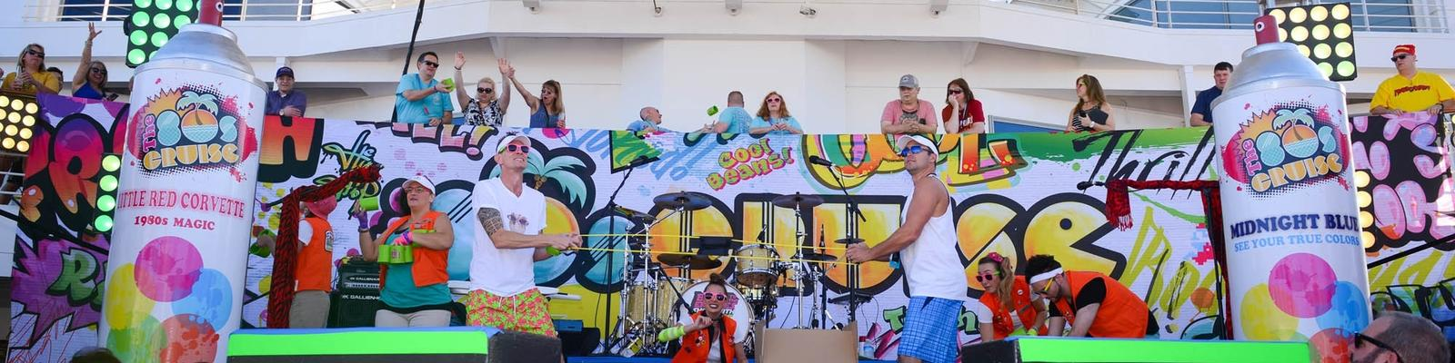The Pool Stage on the 2017 80's Cruise (Photo: The 80's Cruise)