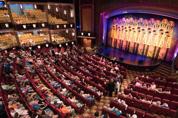 Arcadia Theater on Freedom of the Seas (Photo: Cruise Critic)