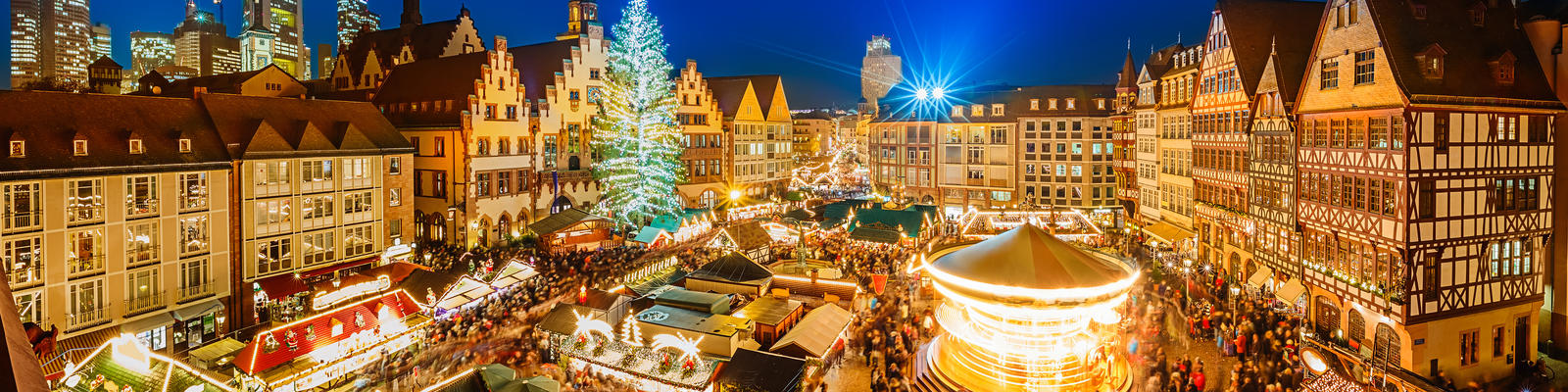 Christmas market in Frankfurt, Germany (Photo: S.Borisov/Shutterstock)