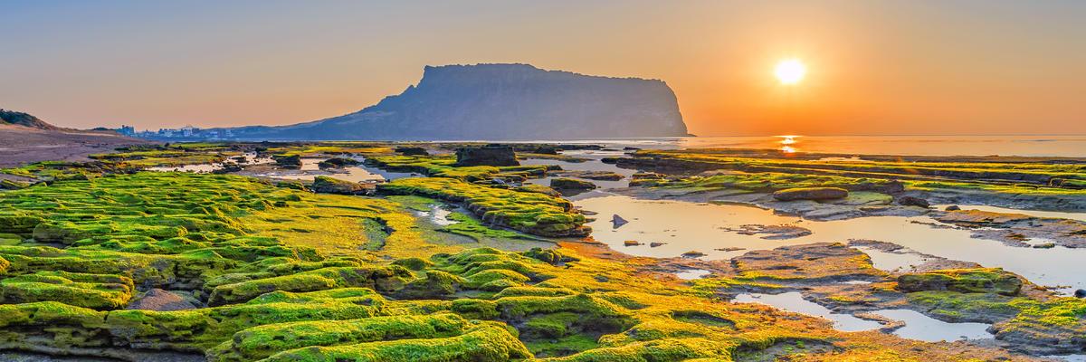 Seongsan Ilchulbong, Jeju Island, South Korea (Photo: Noppasin/Shutterstock)