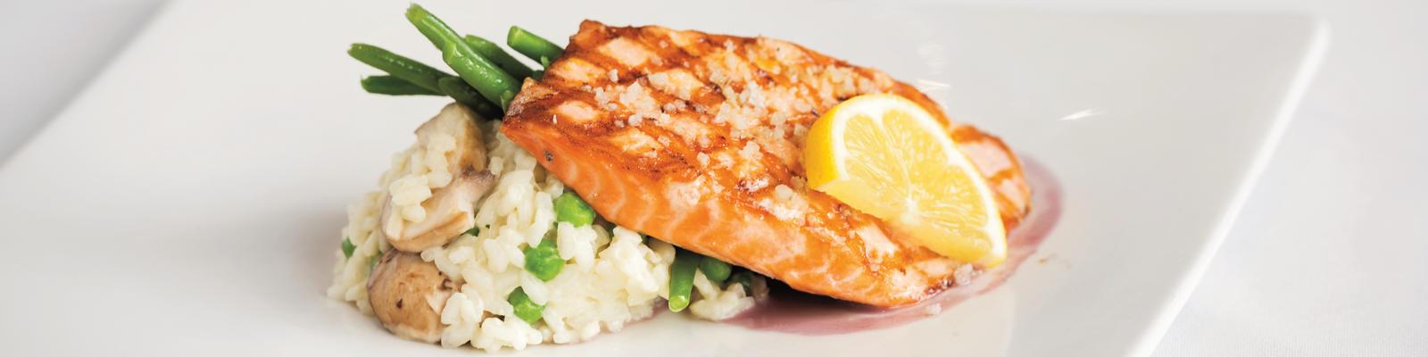 Sea Salt Accented King Salmon from the King Salmon Restaurant in Denai Wilderness Lodge (Photo: Princess Cruises)