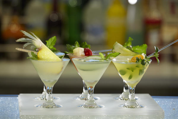 Mojito Flight on Norwegian Cruise Line (Photo: Norwegian Cruise Line)